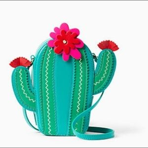 Kate Spade Flowering Leather Cactus Crossbody